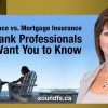 Life Insurance vs Mortgage Insurance: What Bank Professionals Don't Want You to Know