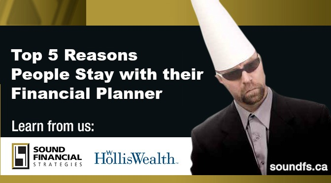 stupid reasons people stay with their financial planner